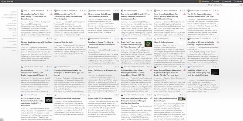 Ищем альтернативы Google Reader