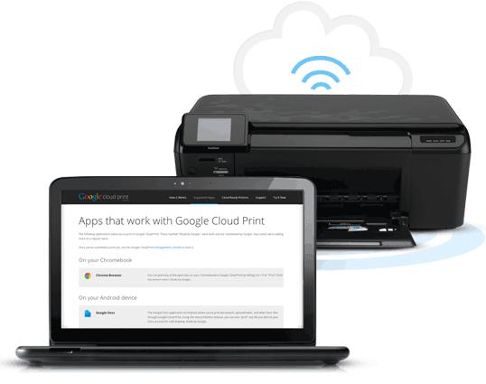 Используем Google Cloud Print без Google Chrome