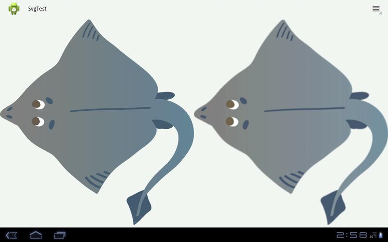 Используем векторные изображения SVG в приложениях Android, или как убить фрагментацию экранов и не потерять в качестве (плюсы, минусы, особенности)