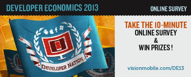 Исследование Developer Economics 2013: участие