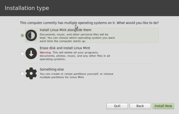История появления DualBoot (Windows 8+Linux Mint) на моём ноутбуке