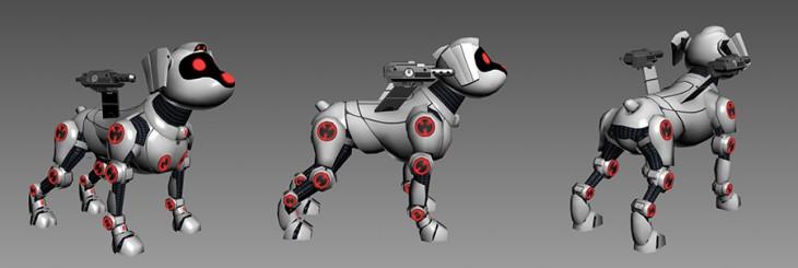История собаченьки. Создание персонажа для новой игры «Эволюция: Битва за Утопию»