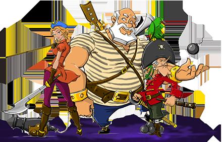 История создания игры Pirates Logic