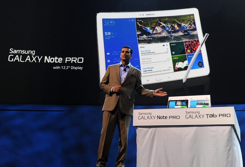 Итоги CES 2014: планшеты Samsung GALAXY NotePRO и TabPRO