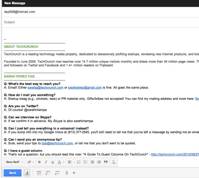 Из за глюка Google тысячи писем ушли на один почтовый ящик Hotmail