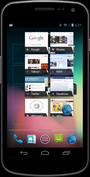 Изменение размера виджета в Android 4.1 Jelly Bean
