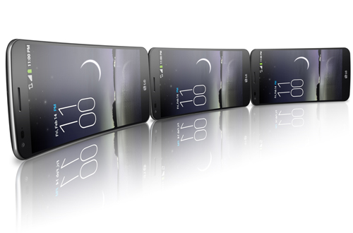 Изогнутый смартфон LG G Flex начиная с февраля станет доступен к продаже в большинстве стран Европы