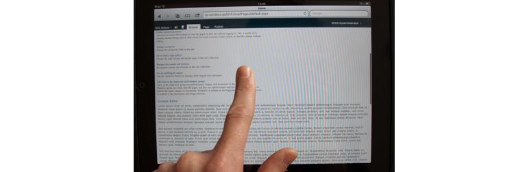 jQuery сниппеты и плагины для iPad