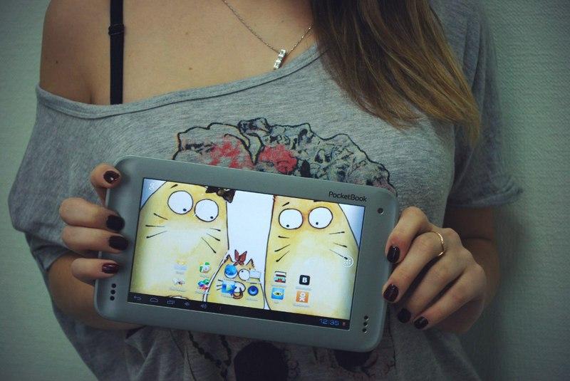 Женский взгляд на PocketBook SURfpad