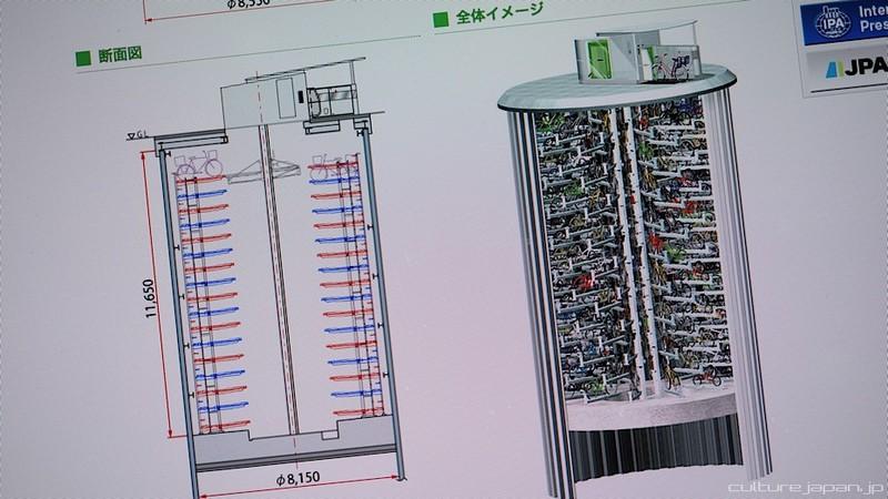 Как хотят парковать велосипеды в Японии