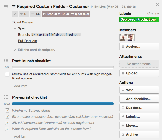 Как мы используем Trello и Google Docs, чтобы постоянно улучшать работу UserVoice