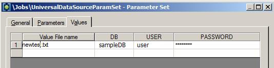 Как передать зашифрованные параметры в DataStage