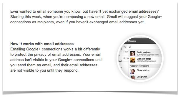 Как послать письмо, когда не знаешь gmail