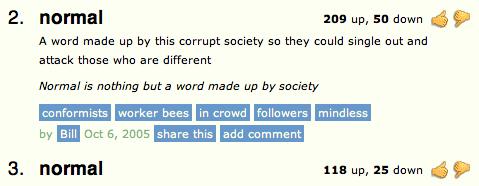Urban Dictionary rating