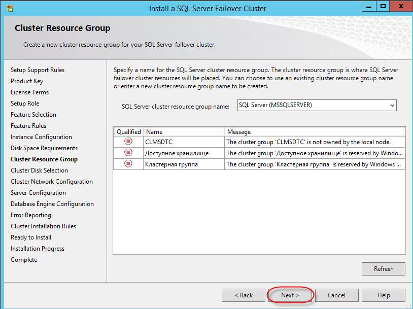 Как развернуть отказоустойчивый кластер MS SQL Server 2012 на Windows Server 2012R2 для новичков