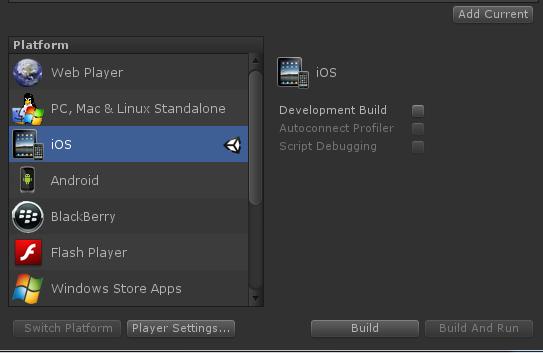 Как скомпилировать билд Unity3D проекта для IOS на Windows?