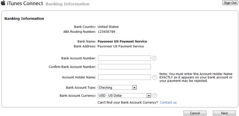 Как вывести деньги из App Store на карту Payoneer