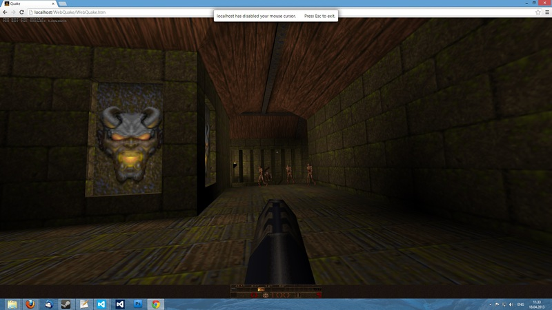 Как я Quake в браузере делал