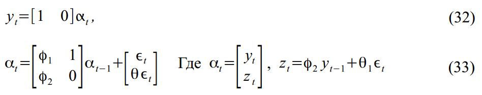 Калман, Матлаб, и State Space Models