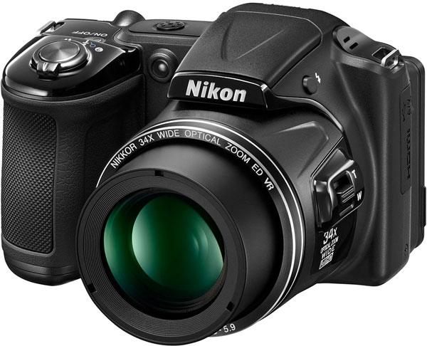 Продажи Nikon Coolpix L830 начнутся в феврале