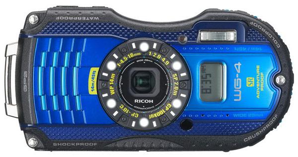 Камеры Ricoh WG-4 и WG-4 GPS выдерживают погружение на глубину до 14 метров и падения с высоты до 2 метров