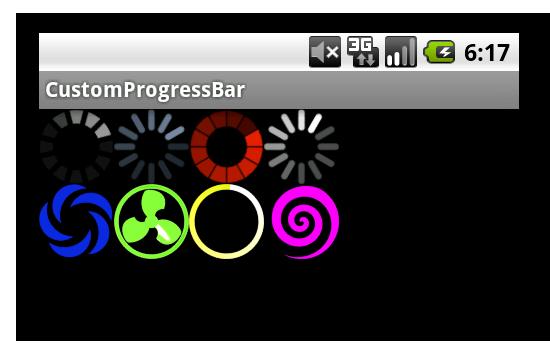 Кастомизация ProgressBar в Android