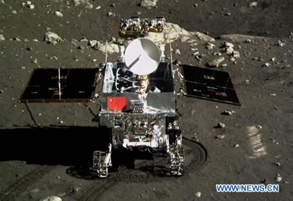 Китай официально объявил о потере лунохода «Юйту»