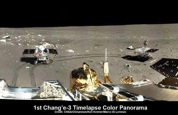 Китайский луноход входит в третью «лунную ночь» с прежней неисправностью приводного агрегата