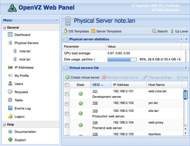 Когда тазика мало, или пора выбрать VPS сервер