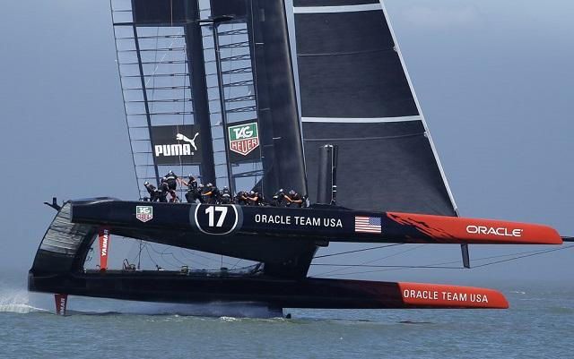 Команда Ларри Эллисона Oracle Team USA выиграла «Кубок Америки»