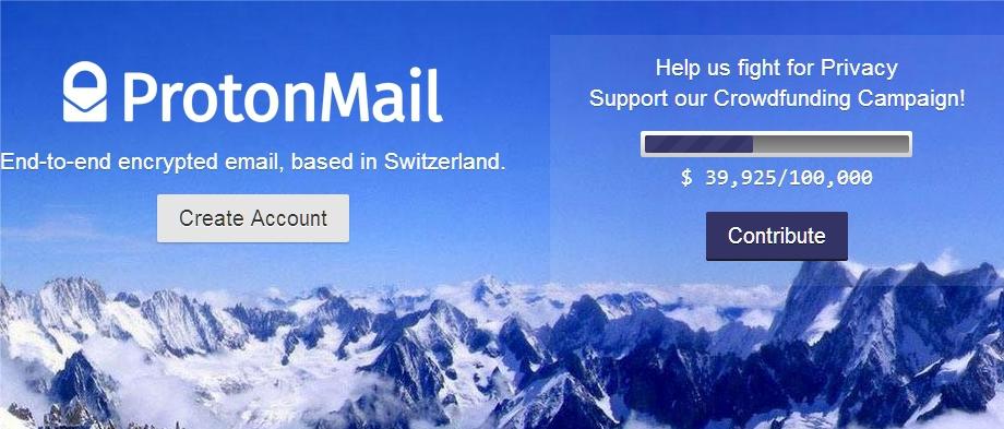 Команда почтового сервиса ProtonMail из ЦЕРН начала сбор средств на дополнительные сервера