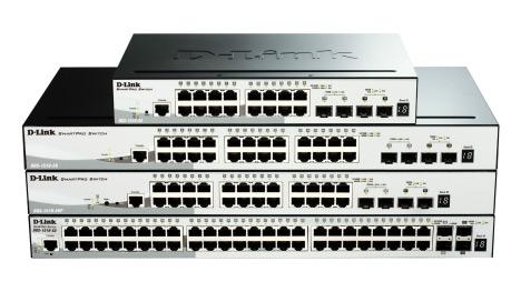 Коммутаторы серии D-Link SmartPro DGS-1510 предназначены для малого и среднего бизнеса