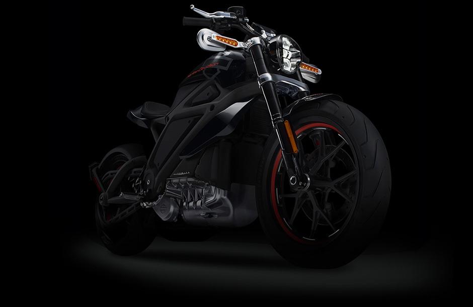 Компания Harley Davidson представила электрический мотоцикл LiveWire