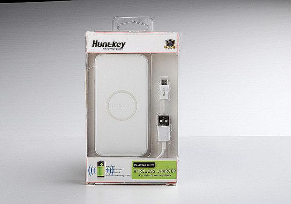 Зарядное устройство Huntkey Wireless Charger HKW00550-WA оснащено индикатором состояния