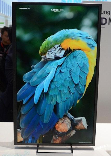 Компания Samsung показала на IFA 2013 монитор 4K с экраном размером 31,5 дюйма