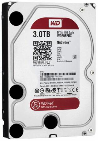 Компания WD представила серию жестких дисков Red для сетевых хранилищ