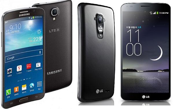 Модели LG G Flex и Samsung Galaxy Round потеряют исключительность