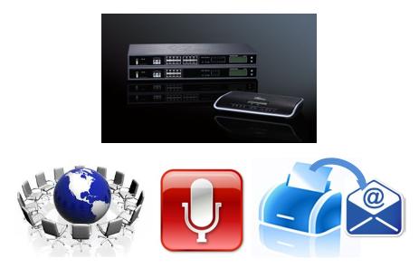 Конференц мост, сервер записи разговоров и Fax сервер от Grandstream: обзор
