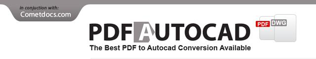 Конвертер файлов PDF в AutoCAD