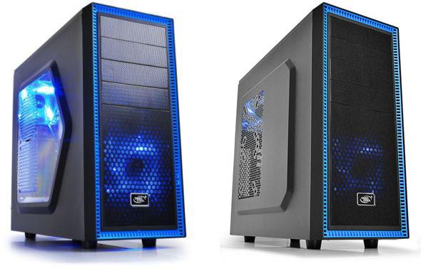 Корпус Deepcool Tesseract SW поддерживает установку шести 120-миллиметровых вентиляторов