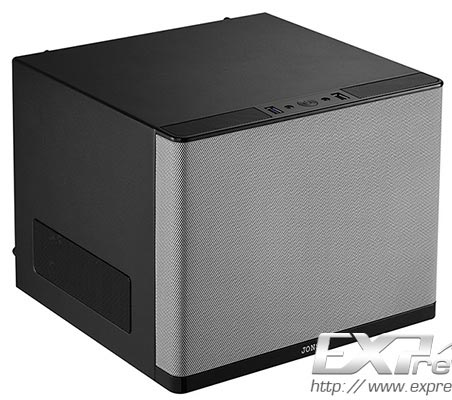 Корпус Jonsbo V6S для систем типоразмера mini-ITX напоминает акустическую систему