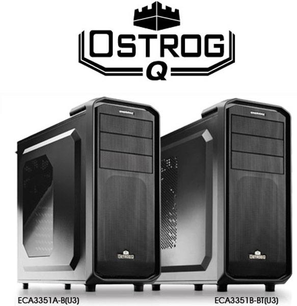 Корпус для ПК Enermax Ostrog.Q выпускается в четырех модификациях