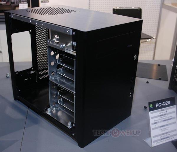 Корпуса Lian Li PC-Q27, PC-Q28 и PC-Q30 рассчитаны на платы типоразмера mini-ITX