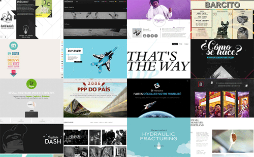 Креативные сайты с нестандартными элементами