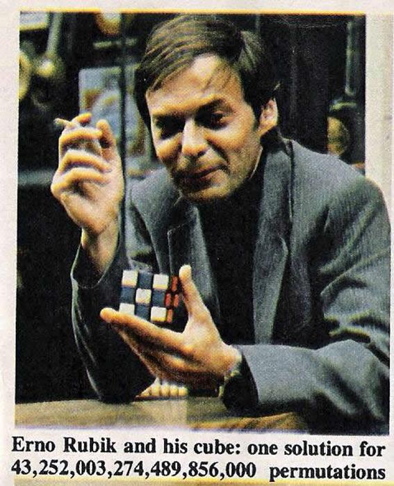 Кубику Рубика исполнилось 40 лет
