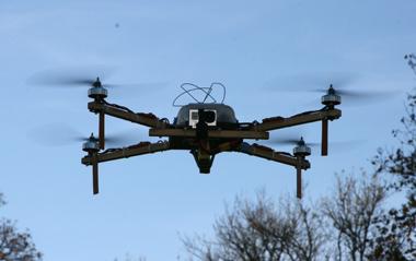 Квадрокоптер: дотянуться до небес