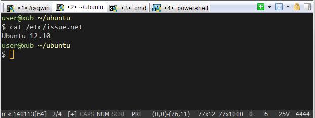 Ламповый Linux like терминал в Windows