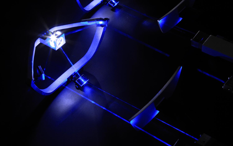 Лазерные фары концепта BMW i8