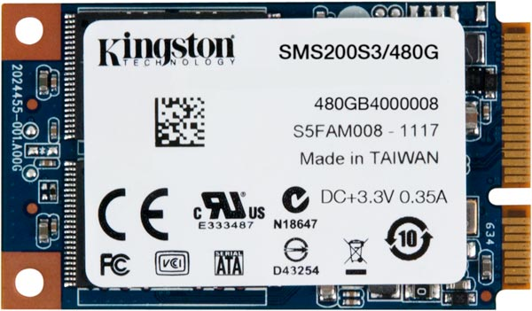 В накопителях Kingston SSDNow mS200 используется контроллер LSI SandForce 2281