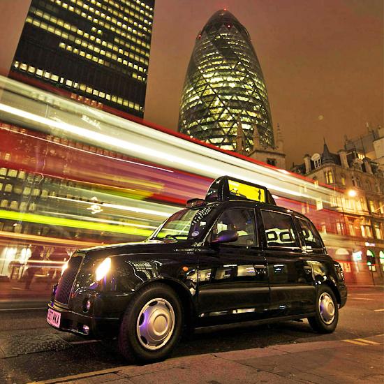 Лондонские такси оснастят скоростными точками доступа
